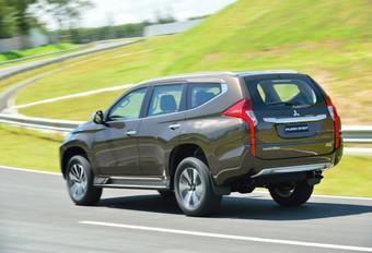 Mitsubishi Pajero Sport is spring-in-'t-veld  #1