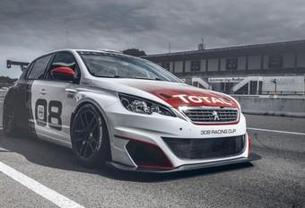 Peugeot 308 als 308 pk sterke Racing Cup #1