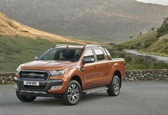 Vernieuwde Ford Ranger gaat Europees #1