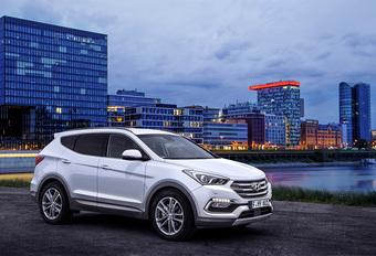 Lichte facelift en extra veiligheid voor Hyundai Santa Fe  #1