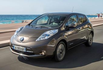 Opgeladen Nissan Leaf raakt voortaan 250 kilometer ver #1