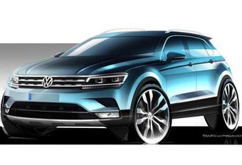 Nog (heel) even geduld voor nieuwe Volkswagen Tiguan #1