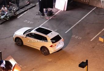 Scoop nieuwe VW Tiguan #1