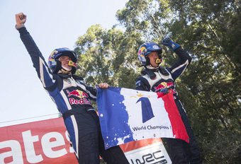 Sébastien Ogier en Volkswagen pakken derde WRC-titel #1