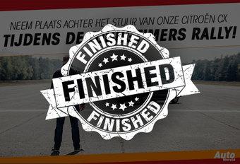 Neem plaats achter het stuur van onze Citroën CX tijdens de Youngtimers Rally! #1