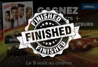 GAGNEZ 50 x 2 tickets pour le film Overdrive ! #1