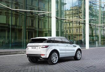 Range Rover Evoque krijgt zuinig(er) staartje #1