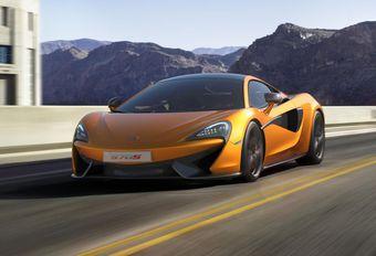 McLaren 570S, lancement de la 3e série #1