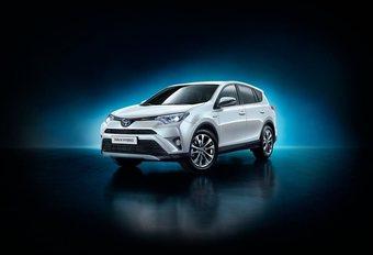 Toyota RAV4, facelift en hybride versie #1