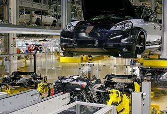 Porsche Cayenne Diesel en production #1
