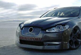 363 km/h voor Jaguar XFR #1