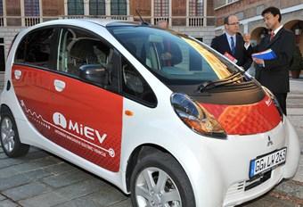 Mitsubishi i MiEV à Monaco #1