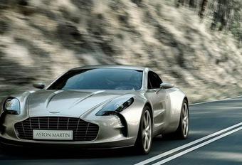 Aston Martin One-77 tijdens Villa d'Este #1