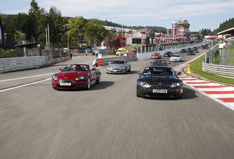 215 Aston Martins in Spa Francorchamps #1