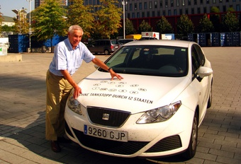 2,34 l/100 km en Seat Ibiza Ecomotive #1