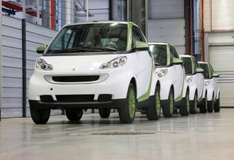 Smart Fortwo électrique en production #1