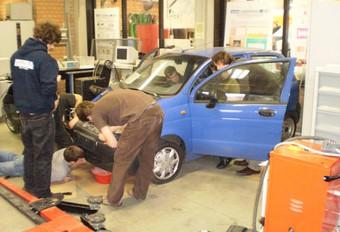 K.U. Leuven électrise une Chevrolet Matiz  #1