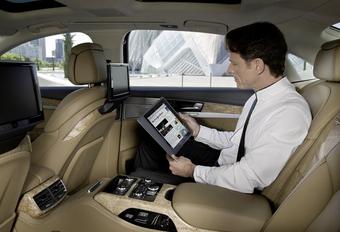 Internet dans l'Audi A8 #1