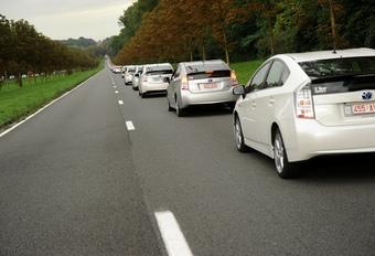 Wereldrecord voor hybride Toyota's #1