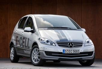 Mercedes Classe A E-Cell #1