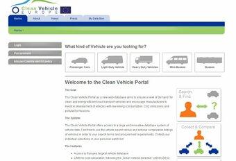 Base de données européennes Cleanvehicle #1