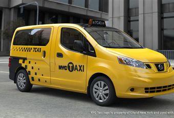 Nissan NV200 en taxi new-yorkais #1