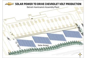 Des panneaux solaires pour la Volt #1
