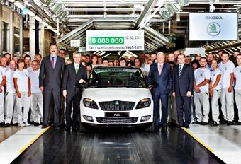 10 millions de Skoda à l'usine-mère #1