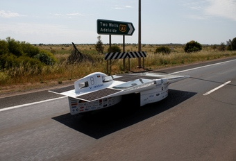 Belgen elfde in World Solar Challenge #1