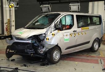 EuroNCAP teste les vans #1