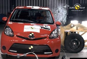 Drie EuroNCAP-sterren voor Aygo, C1 en 107 #1