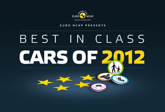EuroNCAP wijst de beste leerlingen van 2012 aan #1