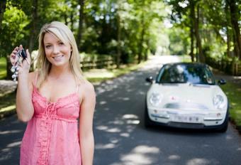 Les femmes belges et l'automobile #1