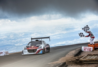 Loeb et Peugeot au sommet à Pikes Peak #1