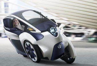 Toyota i-Road pour un programme de mobilité #1