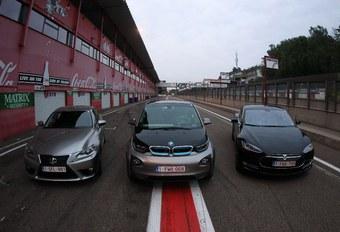 BMW i3, Lexus IS 300h et Tesla Model S, Clean Car of the Year 2014 #1