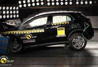 Enkel Mercedes GLA heeft recht op vijf EuroNCAP-sterren #1