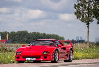 L'ex F40 de Nigel Mansell adjugée 690.000 euros au Zoute #1