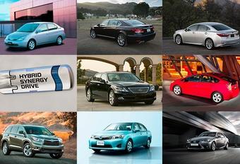 7 millions d'hybrides Toyota depuis 1997 #1