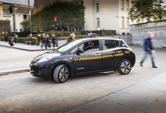 Des taxis Nissan Leaf à Bruxelles #1