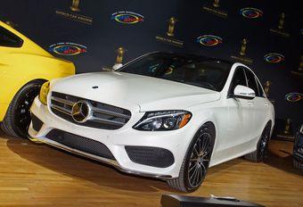 Mercedes Classe C, voiture mondiale de l'année 2015 #1