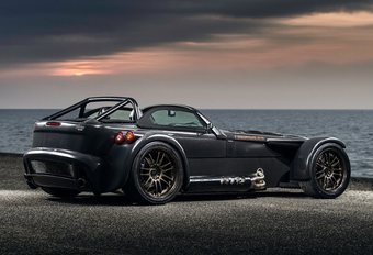 Donkervoort D8 GTO Bare Naked Carbon Edition: spiernaakt #1