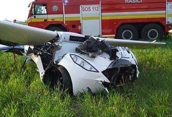 Aeromobil gecrasht #1