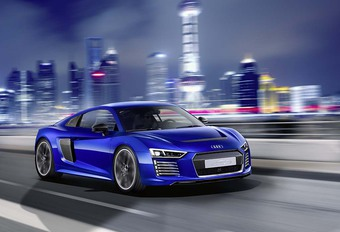 Audi R8 : électrique et autonome #1