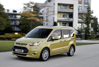 Les Ford Tourneo Connect avec un nouveau Diesel #1