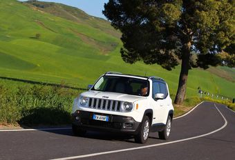 Jeep Renegade : remaniement de l'offre essence #1