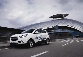 Le Hyundai ix35 à hydrogène à la vente en Belgique #1
