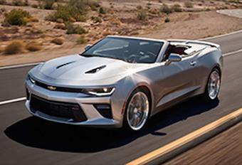 La Chevrolet Camaro enlève le haut #1
