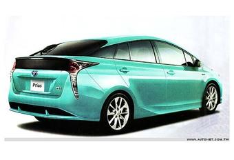Nieuwe Toyota Prius gesnapt? #1