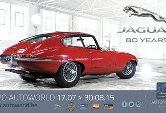 Expo Jaguar 80 Years à Autoworld #1